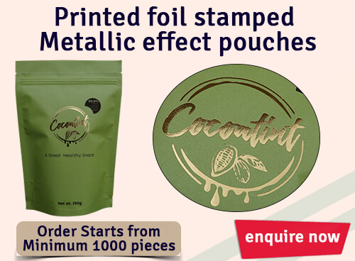 Custom Foil Stamped Pouches PouchMakers