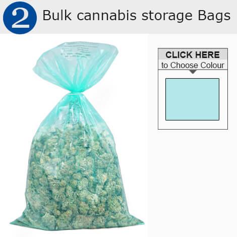 Bulk Storage cannabis bags